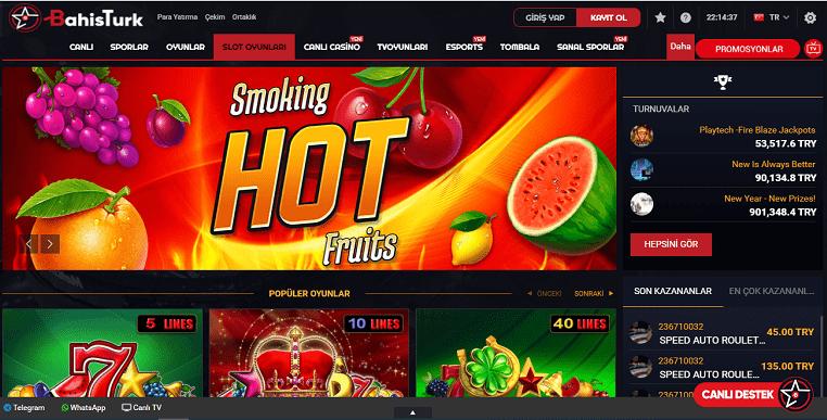 Bahistürk Slot Oyun Ekranı
