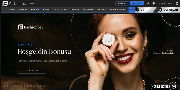 Fashionbet Bonus Sayfası