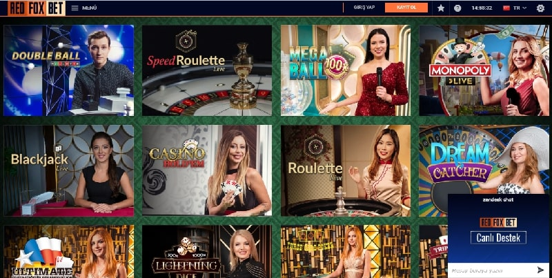 Redfoxbet Casino Slot Oyunları