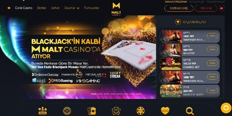Maltcasino Slot Oyun Keyfi