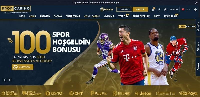 Sporcasino Bonus Sayfası