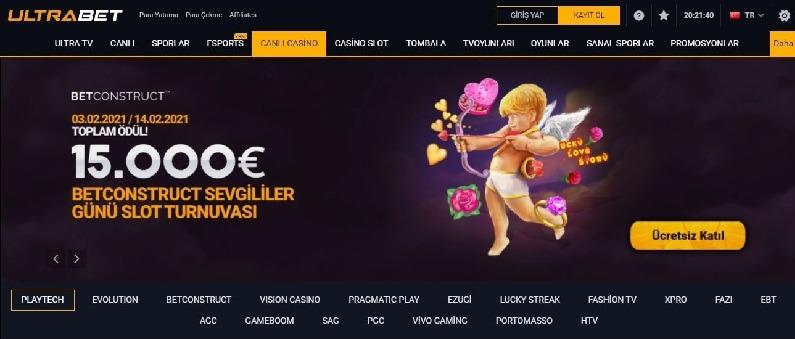Ultrabet Slot Oyunlarının Adresi