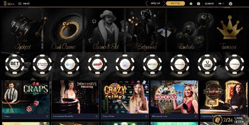 Vipbahis Slot Oyunları Ekranı
