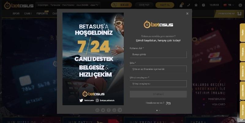 betasus kayıt adresi