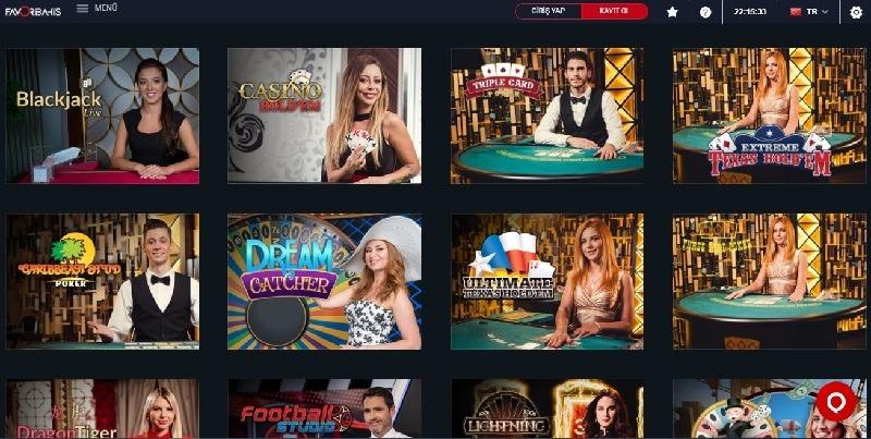 favoribahis slot oyunları sayfası